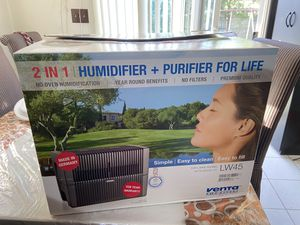 VENTA LW45 Brand New In A Box Airwasher 2-in-1 Humidifier And Purifier for Sale in Hicksville, NY