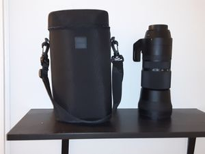 Sigma 150-600mm Fs-6.3 DG OS HSM Sport Lens For Canon Cameras for Sale in Minneapolis, MN