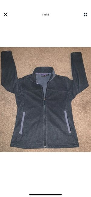 Patagonia Synchilla Women Jacket Small S Black/Gray for Sale in Columbia, SC