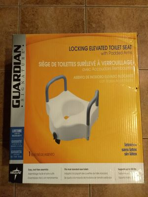 Locking elevated medical toilet seat for Sale in Tracy, CA