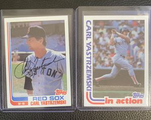1982 Topps Carl Yastrzemski baseball cards for Sale in Hayward, CA
