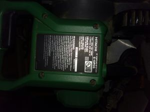 Hitachi chop saw for Sale in Dry Prong, LA