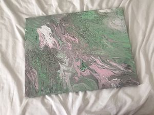 Acrylic Pour Painting 1 for Sale in Orcutt, CA