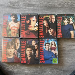 Smallville seasons one through seven brand new never been opened for Sale in Torrance, CA