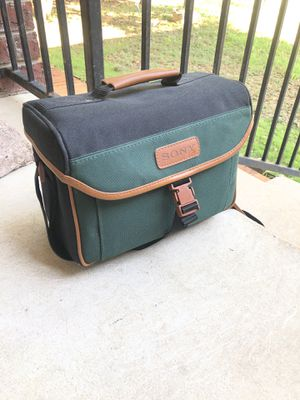Vintage Sony Camera bag. for Sale in San Antonio, TX