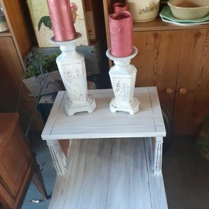 Two Destress Candle holders for Sale in Burlington, NC
