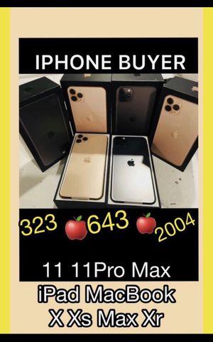 Open box iPhone 11 Pro Max x xs 64gb xr—— iPad Pro for Sale in Los Angeles, CA