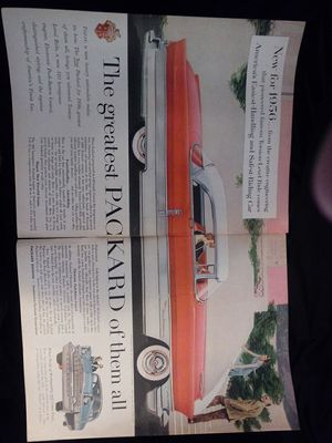 1956 ad for the Packard 400 for Sale for sale  Bremerton, WA