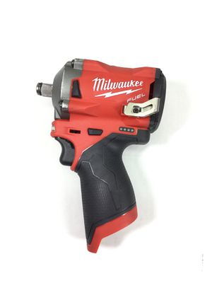 "Milwaukee M12 Fuel 1/2"" Stubby Impact Wrench Model 2555-20 for Sale in Kent, WA"