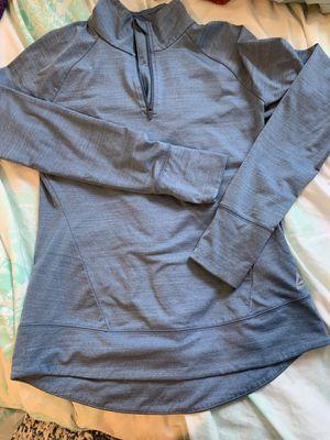 Women's medium Reebok quarter zip-steel blue for Sale in Pittsburgh, PA