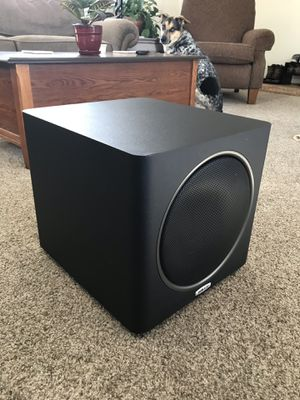 Subwoofer Polk Audio PSW110 w/ cable for Sale in Westminster, CO