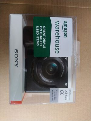 Sony A6000 & A6300 Body Case ILS-EBE for Sale in Austin, TX