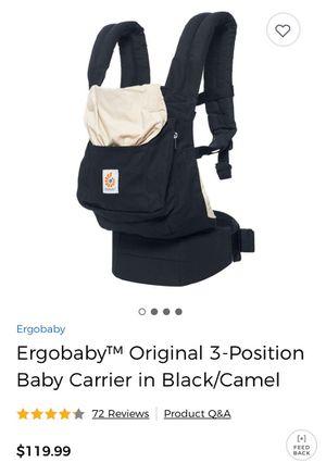 Like new ergo baby carrier for Sale in Hyattsville, MD