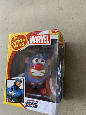 Captain America Mr Potato head for Sale in San Diego, CA