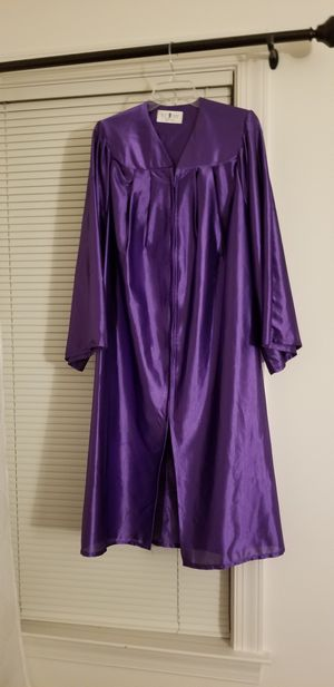 Purple Graduation Gown for Sale in Aldie, VA