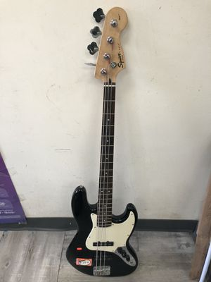 SQUIRE AFFINITY SERIES JAZZ BASS v GUITAR ........ for Sale in Baltimore, MD