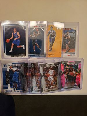 Luka Doncic, Ja Morant & Zion rookie cards for Sale in Victorville, CA