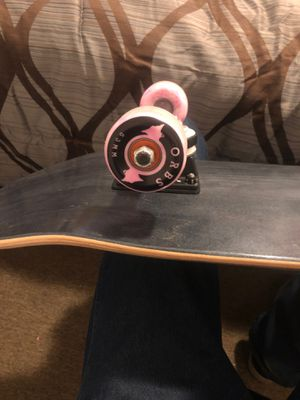 Mini logo skateboard with new wheels trucks and bearings for Sale in Lubbock, TX