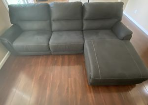 Henefer 3-Piece Power Reclining Sectional with Chaise & Hefener Power Recliner for Sale in Sacramento, CA