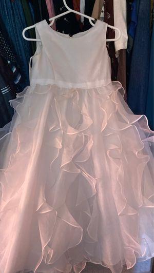 White Dress David's Bridal 2T, Flower Girl Dress for Sale in Dallas, TX