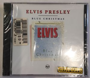 Music CDs, 3 Elvis Albums, Blue Christmas, Elvis' Christmas and Elvis, You'll Never Walk Alone for Sale in Virginia Beach, VA