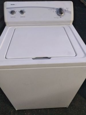 Kenmore electric washer heavy duty super capacity excellent new condition and ready to use curbside delivery or pickup is possible for Sale in Pennsauken Township, NJ
