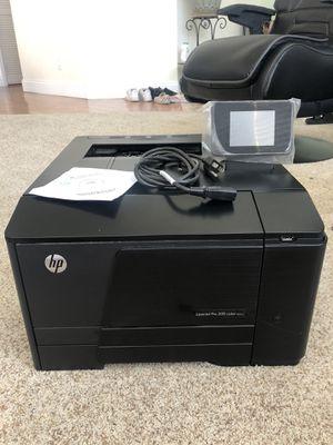 HP LaserJet Pro 200 Color Printer for Sale in Milpitas, CA