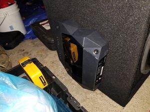 1000 watt job subwoofer 1300 watt jbl amplifier for Sale in Brooklyn, OH