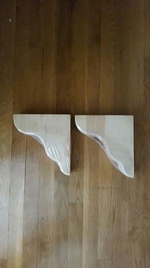 10 inch Shelf Brackets - wood for Sale in Olney, MD