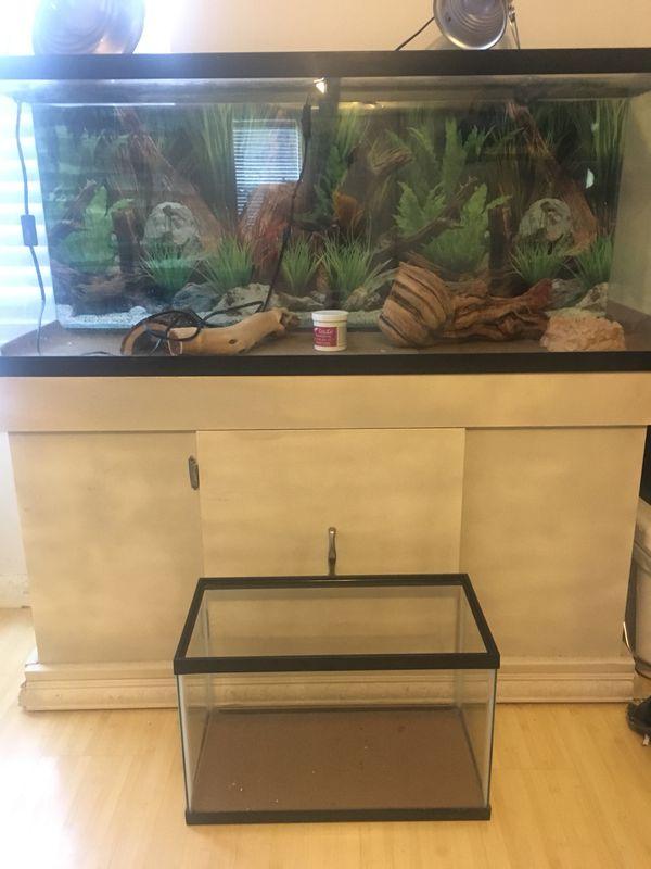 55 Gallon Aquarium Terrarium 10 Gallon Fish Tank Brand New For