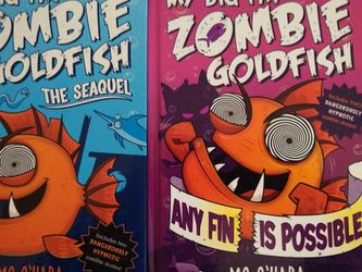 My Big Far Zombie Goldfish Books 1,2 for Sale in Gig Harbor,  WA