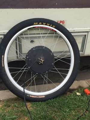 """26"""" front hub electric bicycle motor . for Sale in Los Angeles, CA"""