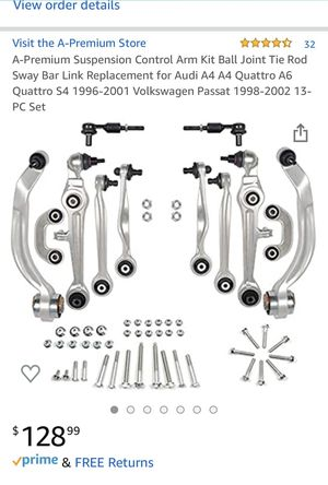 Suspension control arm kit for Volkswagen, Audi for Sale in Seattle, WA