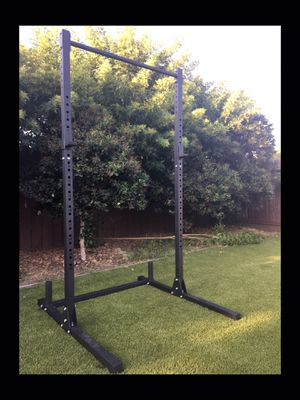 Brand new in box!!! Multifunctional power rack/squat rack/ bench press/ pull up bar!! (Sorry, not negotiable) for Sale in San Diego, CA