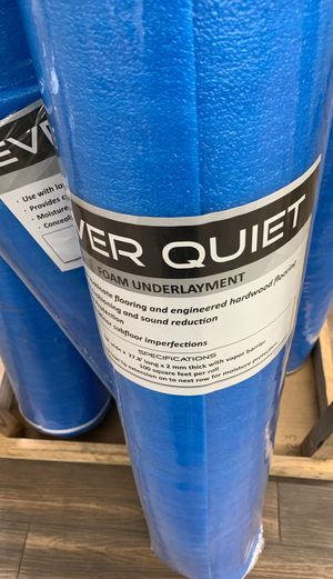 Everquiet Underlayment $14.99 for Sale in Jacksonville, FL
