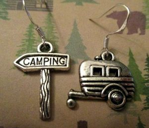 NEW ARRIVAL* Fun Travel Vacation Happy Camper Earring Set *See My Other 300 Items* for Sale in Palm Beach Gardens, FL