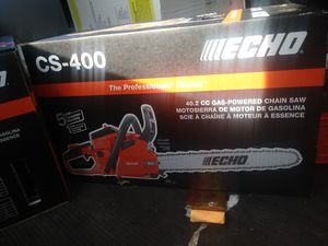 18 inch Echo chainsaw for Sale in Pawtucket, RI