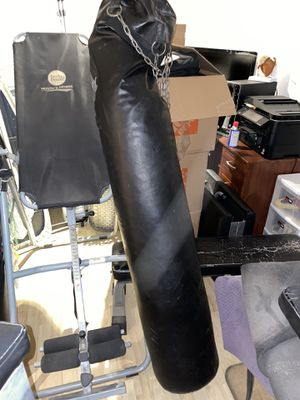Long Punching Bag for Sale in Miami Beach, FL