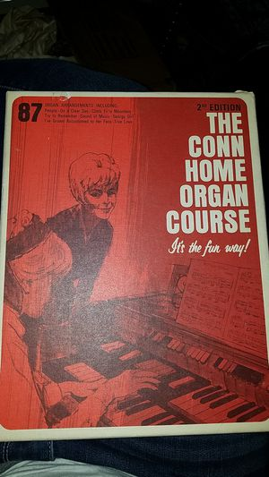 Vintage organ sheet music set conn home course 2nd edition antique old for Sale in Evergreen, CO