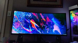 34in Ultrawide Curved 1440p 144hz Monitor for Sale in Phoenix, AZ