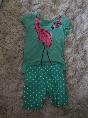 Girl summer pajamas size small 7 for Sale in Stockton, CA