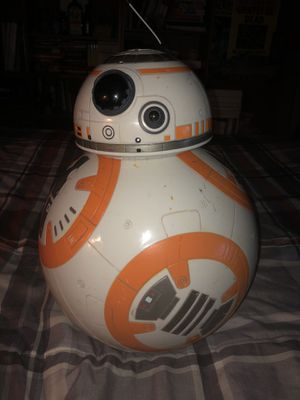 Spinmaster interactive voice/remote controlled BB-8 droid from Star Wars:The Force Awakens. LIMITED EDITION. for Sale in Mesilla Park, NM
