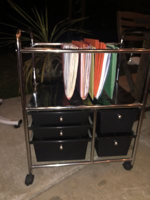 Rolling Hanging File Cabinet with 5 drawers for Sale in Santa Fe Springs, CA