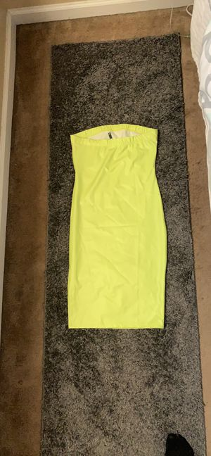 Neon Leather Strapless dress for Sale in Decatur, GA