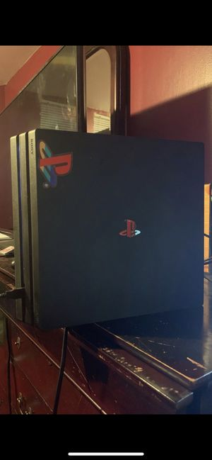 PS4 Pro Black for Sale in Temple Hills, MD
