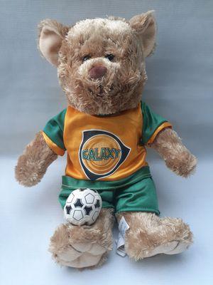 """Galaxy 23 classic Soccer Plush Soft Teddy Bear 14"""" Peek A Boo Los Angeles la for Sale in South Gate, CA"""