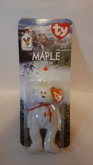 Maple the bear beanie baby mcdonalds for Sale in Garland, TX