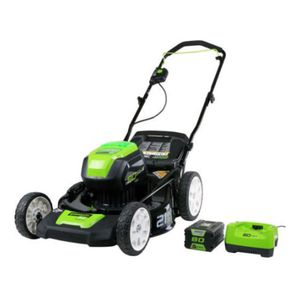 Greenworks PRO 21-Inch 80V Cordless Lawn Mower, 4.0 AH Battery Included GLM801602 for Sale in Austin, TX