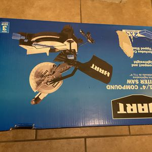 Hart Compound Miter Saw - New In Original Box - $85 for Sale in Glendale, AZ