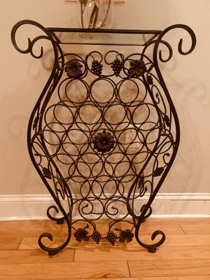 Iron Wine Rack for Sale in Tampa, FL